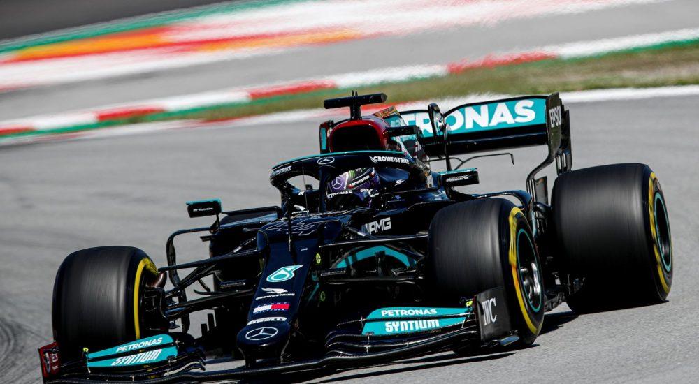 Lewis Hamilton Mercedes AMG W12
