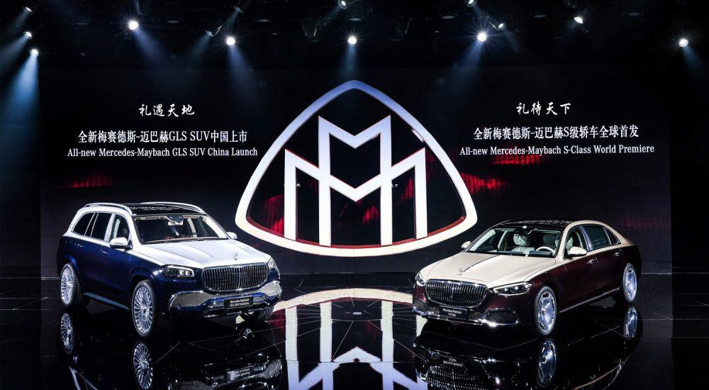 Mercedes Maybach GLS und S-Klasse