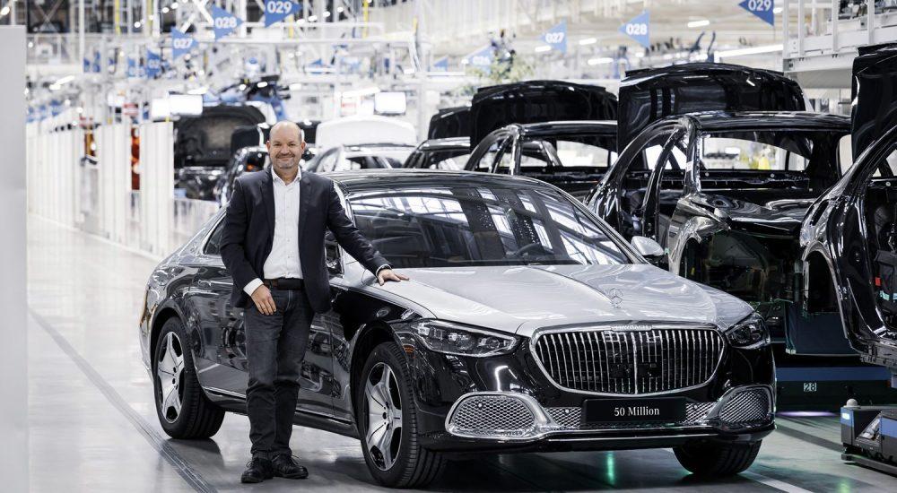 Mercedes-Maybach 50 Mio Pkw