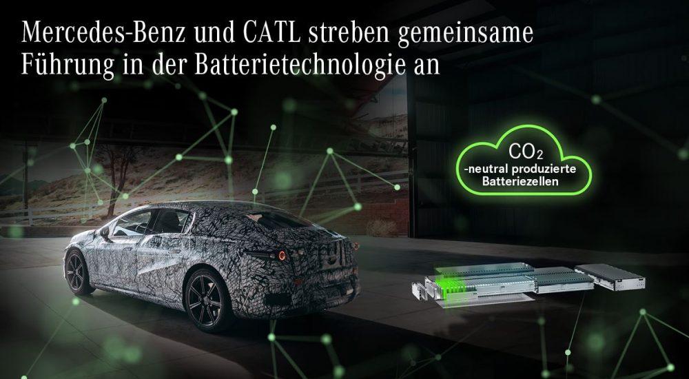 Mercedes-Benz Batterie EQS CATL