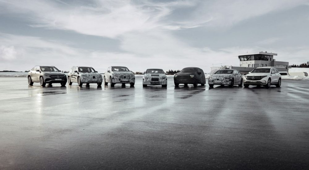Mercedes EQ Familie
