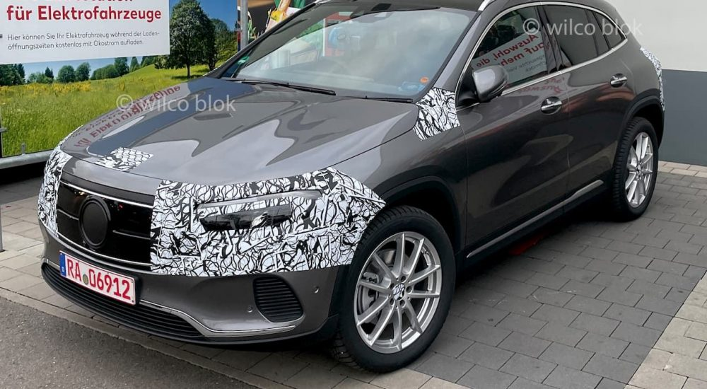 Mercedes EQA Erlkönig