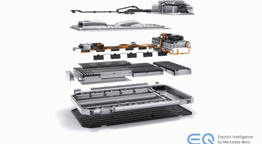 Mercedes EQC Batterie