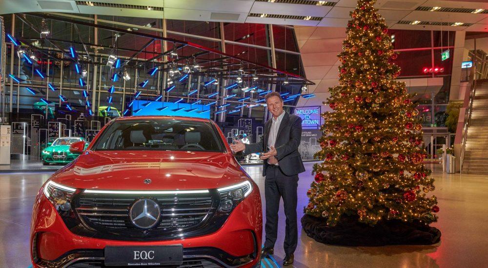 Mercedes EQC BMW Welt