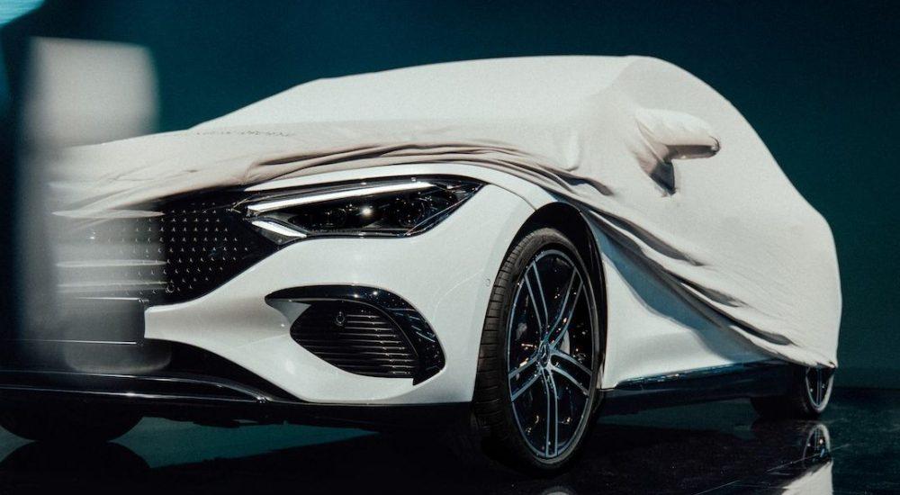 Mercedes EQE V295 Teaser