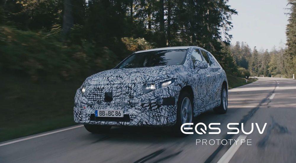 Mercedes EQS SUV (X296)