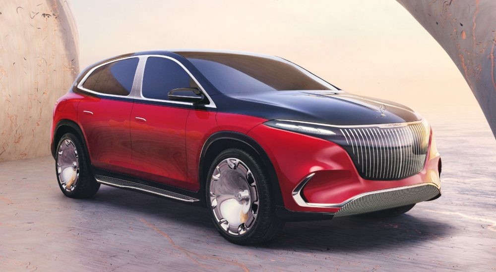 Mercedes Maybach Concept EQS SUV