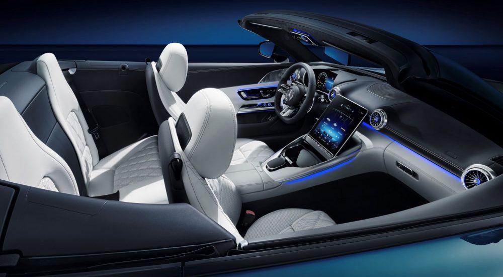 Mercedes SL R232 Interieur