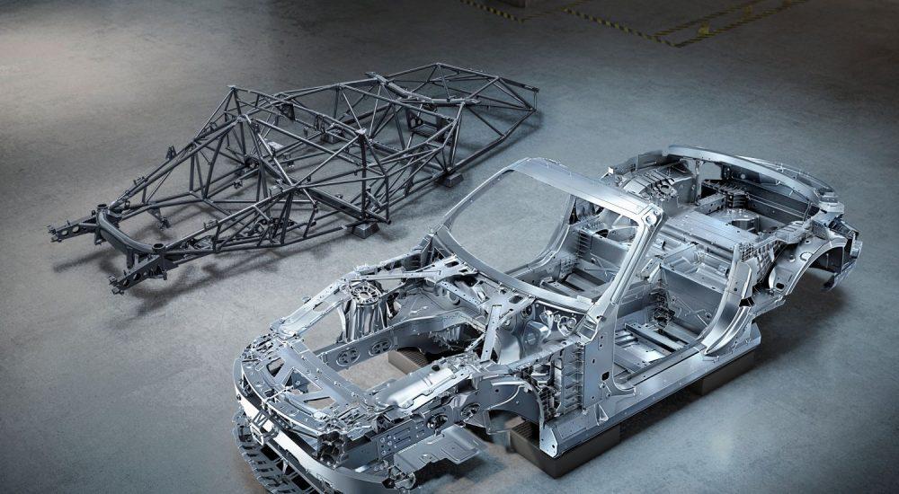 Mercedes SL Rohbau R232