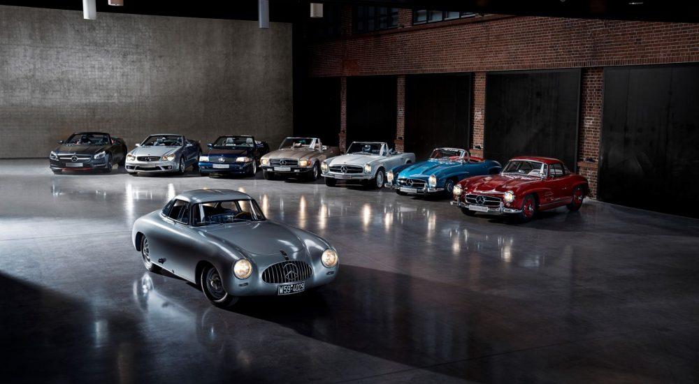 Mercedes SL Tradition