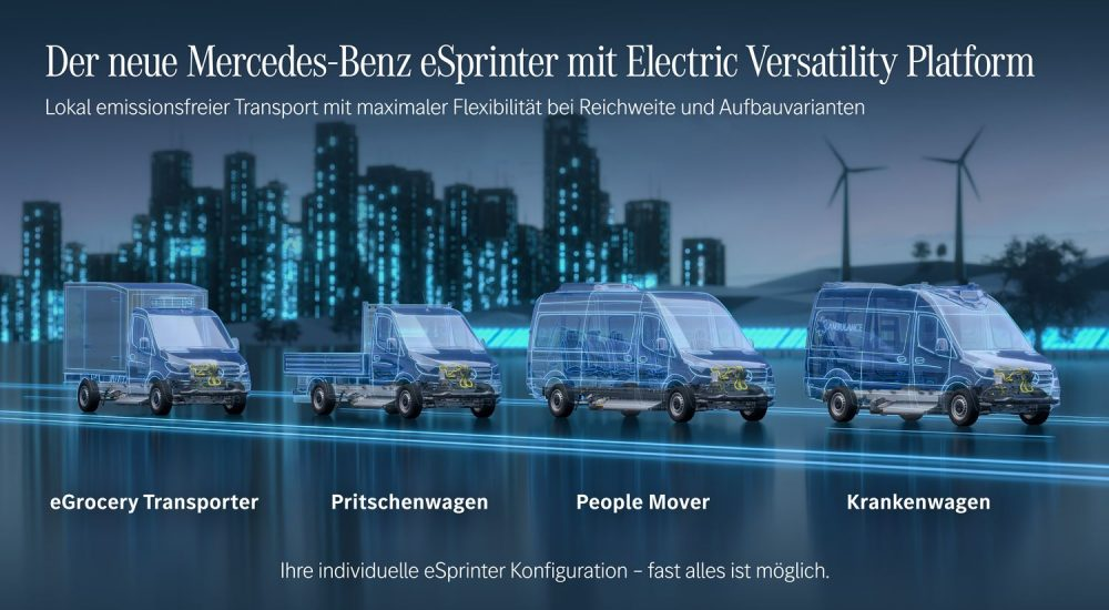 Mercedes eSprinter EVP