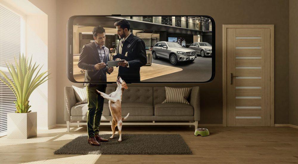 Mercedes digital